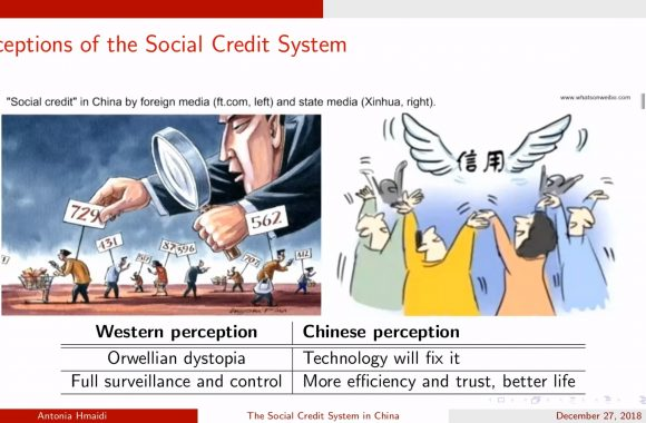 Social Credit System in China - Vortrag von Antonia Hmaidi